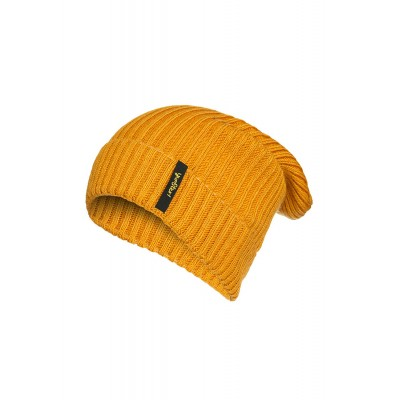 Boys & Girls Dark Yellow Knit Hat