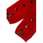 Girls Rose Mélange Knit Gaiters