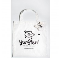 Yumster White Foldable Bag