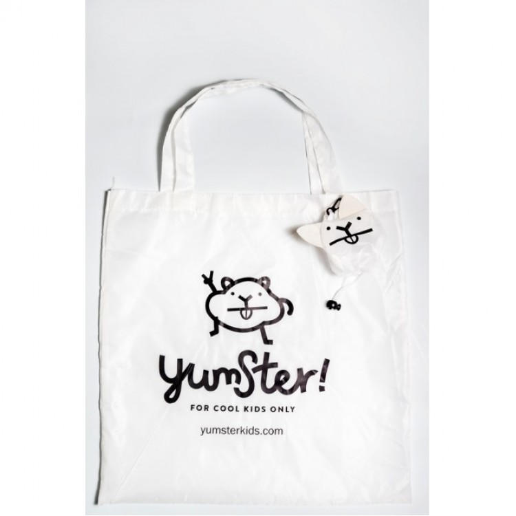 Yumster White Foldable Bag