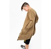 Boys & Girls Brown Cardigan Coat