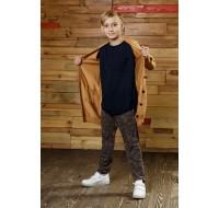 Boys & Girls Light Brown Cardigan Coat