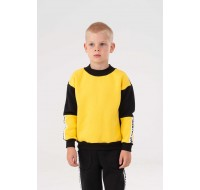 Yellow with stripes Yumster sweatshirt