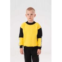 Yellow with stripes Yumster sweatshirt