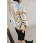 Boys & Girls Golden Bomber Jacket