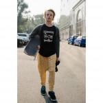 Boys & Girls Cucumber Mustard Cotton Pants