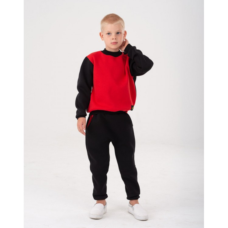 Black Yumster pants with red pockets