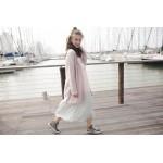Boys & Girls Dirty Rose Knit Cardigan Coat