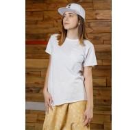 Boys & Girls Short Sleeve Yumster White T-Shirt