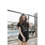 Boys & Girls Short Sleeve Yumster Black T-Shirt
