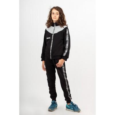 Штаны чёрные спортивные для девочек