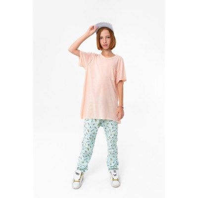 Girls Short Sleeve Pink T-shirt