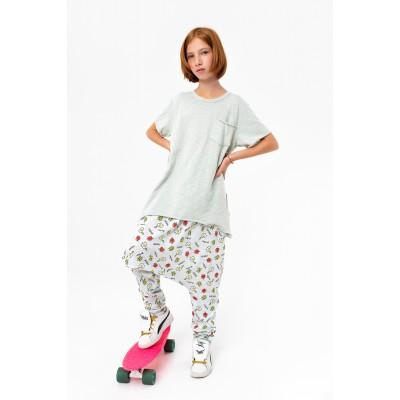 Boys & Girls Short Sleeve Yumster Grey T-Shirt