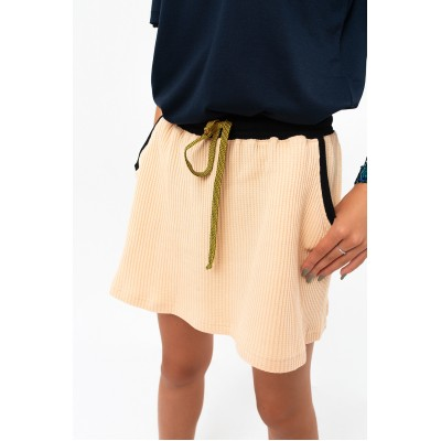 Girls Beige Skirt