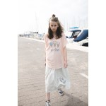 Girls Ice-Cream Gray Midi Skirt